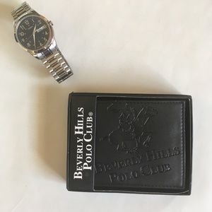 Timex Men's Watch & Beverly Hills Polo Club Wallet